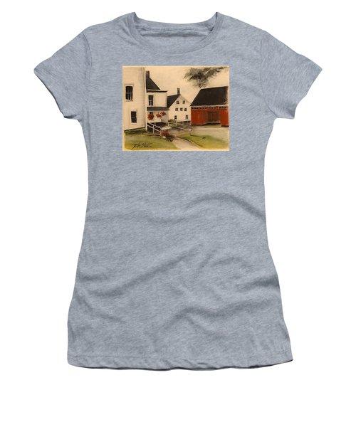 The Farmhouse Women's T-Shirt (Athletic Fit)
