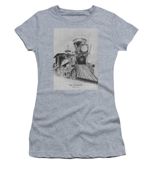 The General - Train - Big Shanty Kennesaw Ga Women's T-Shirt