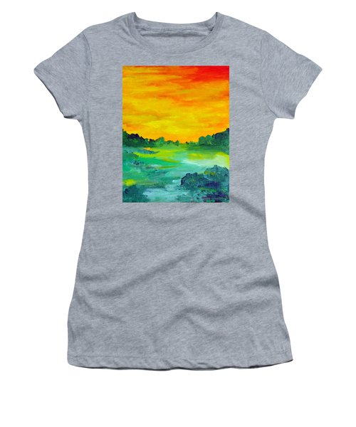 The  Lagoon Women's T-Shirt