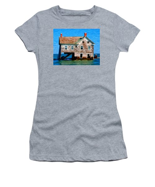 The Last House On Holland Island Women's T-Shirt (Athletic Fit)