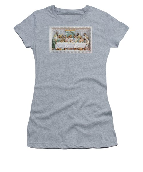 The Last Supper Women's T-Shirt (Athletic Fit)