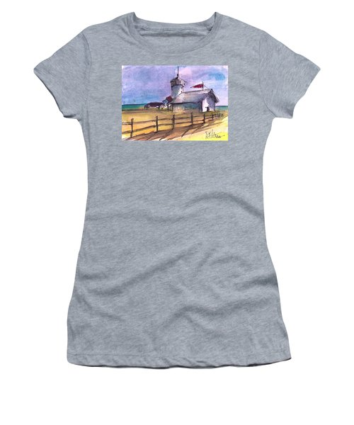 The Lighthouse Women's T-Shirt (Athletic Fit)