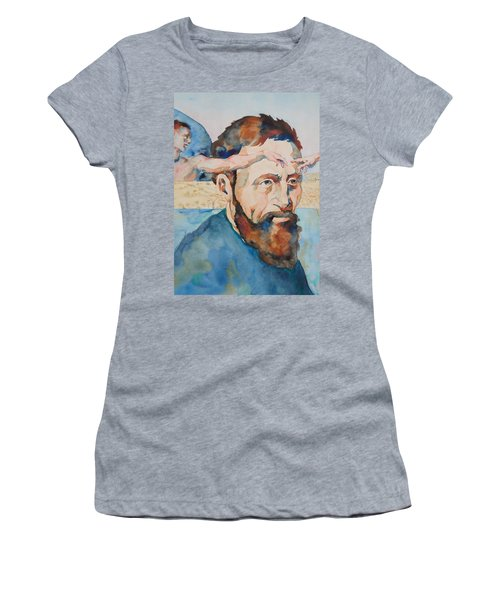 The Mind Of Michelangelo Women's T-Shirt (Athletic Fit)