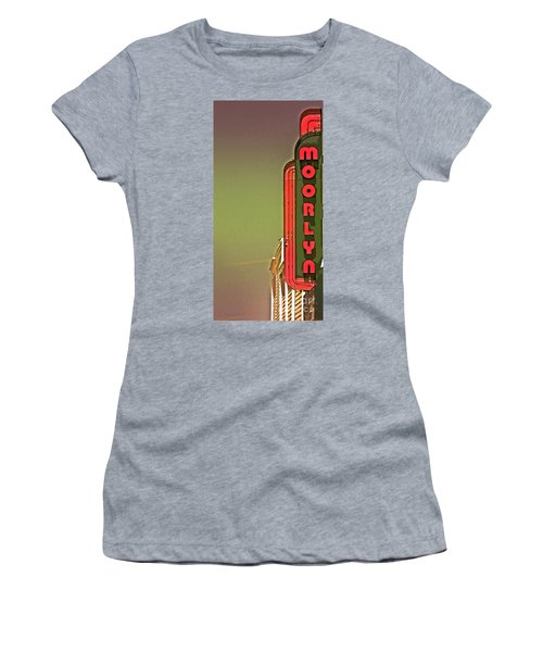 The Moorlyn At The Shore  Women's T-Shirt (Athletic Fit)