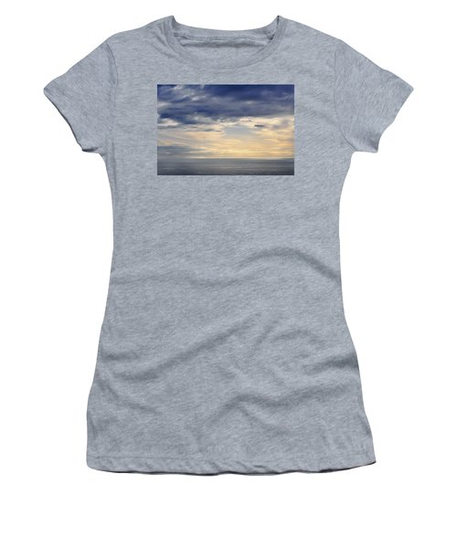 Women's T-Shirt (Junior Cut) featuring the photograph The Pacific Coast by Kyle Hanson