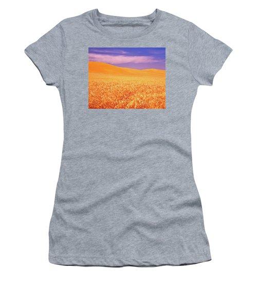 The Palouse Steptoe Butte Women's T-Shirt