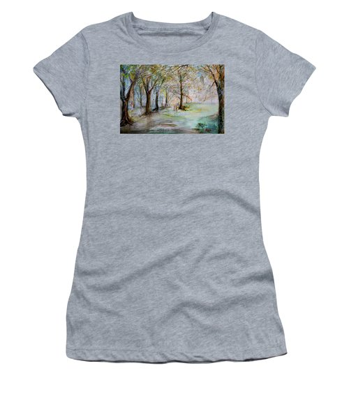 The Park Bench Women's T-Shirt (Athletic Fit)