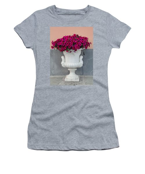 Women's T-Shirt (Junior Cut) featuring the photograph The Planter by Natalie Ortiz