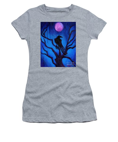 The Raven Nevermore Women's T-Shirt (Athletic Fit)