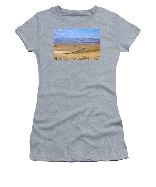 The Road Women's T-Shirt (Junior Cut) by Stuart Litoff