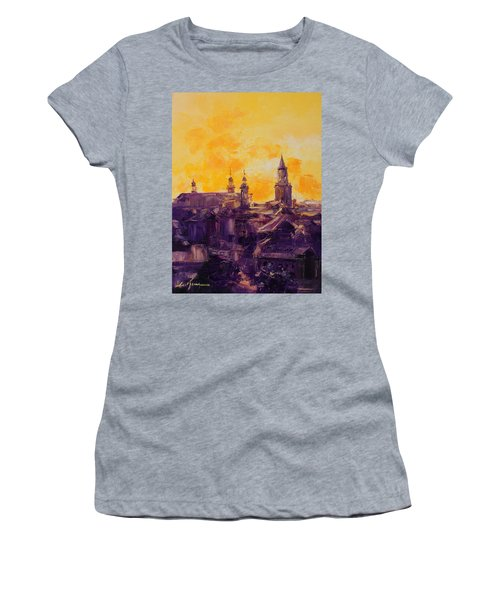 The Roofs Of Lublin Women's T-Shirt