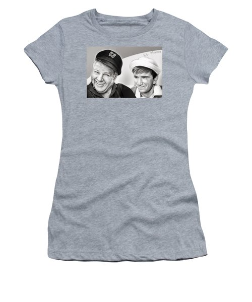 The Skipper And Gilligan Women's T-Shirt