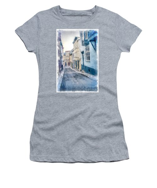 The Streets Of Old Quebec City Women's T-Shirt