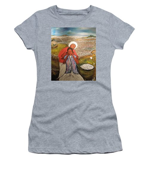 The Strength Of Grandma Women's T-Shirt (Athletic Fit)