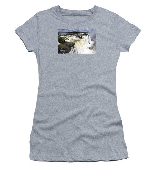 The Stunning Falls Of Iguacu Brazil Side Women's T-Shirt