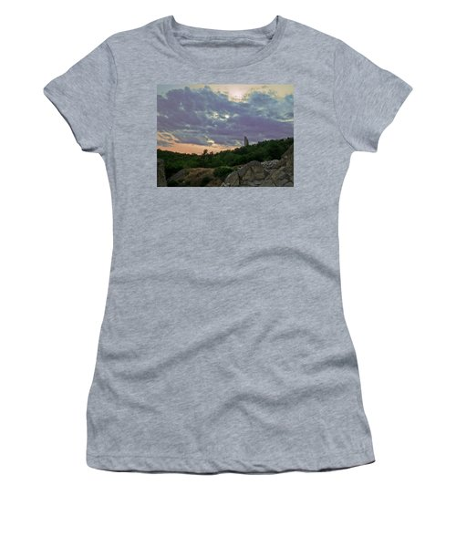 Women's T-Shirt (Junior Cut) featuring the photograph The Tower by Eti Reid
