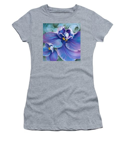 The Violet Women's T-Shirt (Athletic Fit)