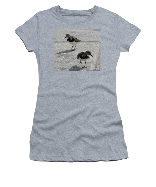 The Walk Women's T-Shirt (Junior Cut) by Donna Brown