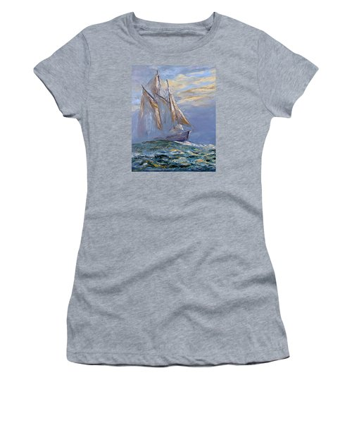 The Wanderer Women's T-Shirt (Athletic Fit)