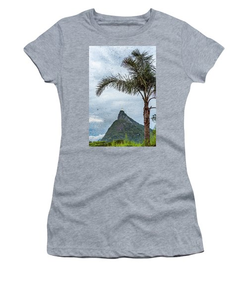 Thousands Of Flying Ants On Corcovado Women's T-Shirt