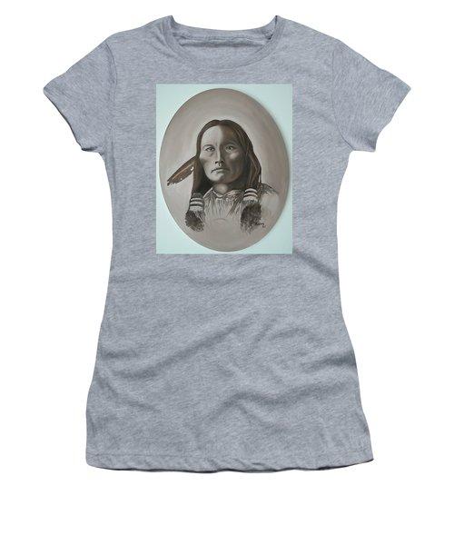 Three Fingers Women's T-Shirt (Junior Cut) by Michael  TMAD Finney