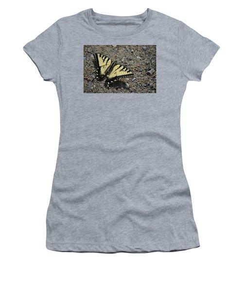 Women's T-Shirt (Junior Cut) featuring the photograph Tiger Swallowtail by James Petersen