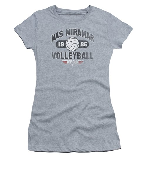 Top Gun - Nas Miramar Volleyball Women's T-Shirt (Athletic Fit)