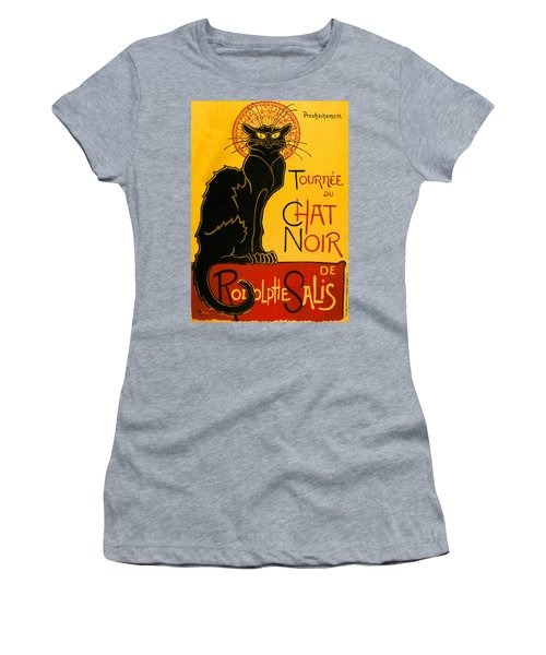 Tournee Du Chat Noir Women's T-Shirt (Athletic Fit)