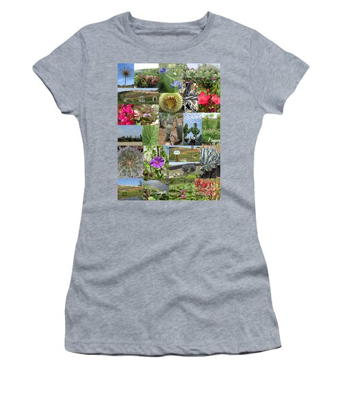 Women's T-Shirt (Athletic Fit) featuring the photograph Traveling Baby Pandas At The Plant Nursery. California. by Ausra Huntington nee Paulauskaite