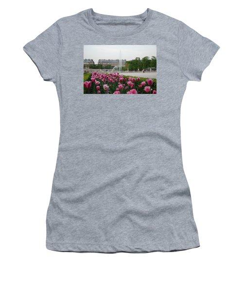 Tuileries Garden In Bloom Women's T-Shirt
