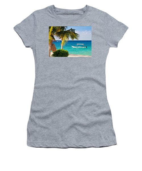 Turquoise Waters In Cozumel Women's T-Shirt (Athletic Fit)