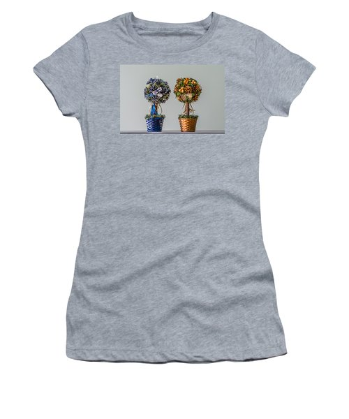Twin Trees Women's T-Shirt (Athletic Fit)