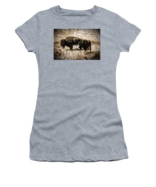 Two Buffalo Women's T-Shirt (Athletic Fit)
