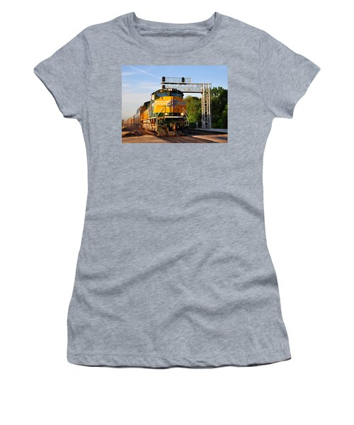 Union Pacific Chicago And North Western Heritage Unit Women's T-Shirt