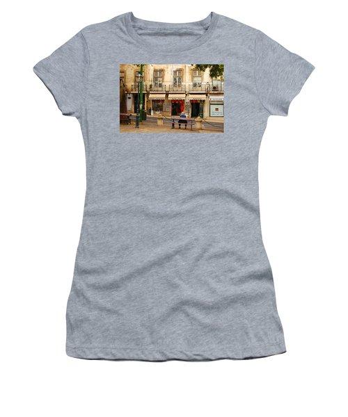Lisbon Street Scene Women's T-Shirt