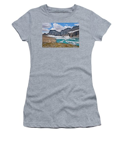 Upper Grinnell Lake And Glacier Women's T-Shirt