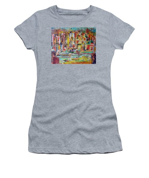 Urban Landscape Women's T-Shirt (Athletic Fit)