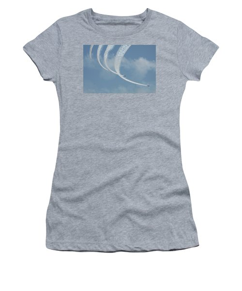 Vapor Trails In The Empty Air Women's T-Shirt (Athletic Fit)