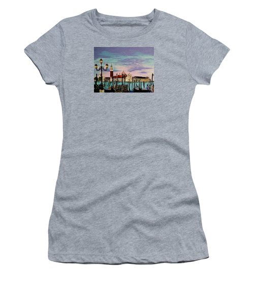 Venice  Italy By Jasna Gopic Women's T-Shirt (Athletic Fit)