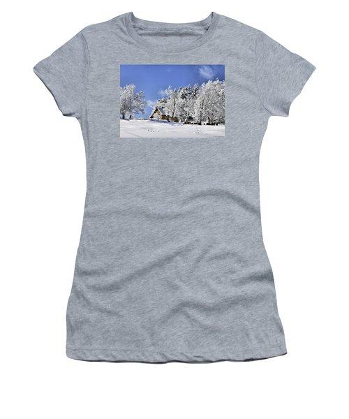 Vermont Winter Beauty Women's T-Shirt