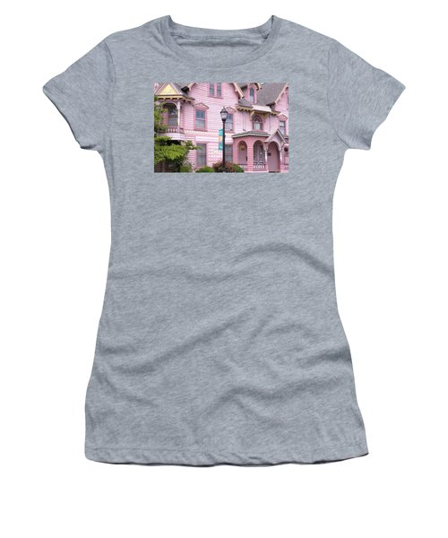 Victorian Pink House - Milford Delaware Women's T-Shirt