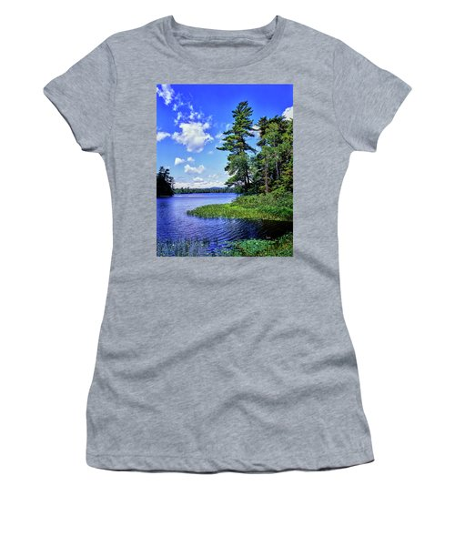 View Of The Follensby Clear Pond Women's T-Shirt