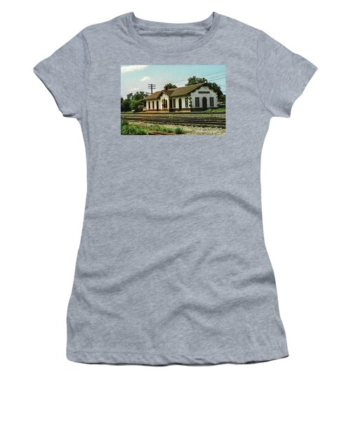 Villisca Train Depot Women's T-Shirt (Athletic Fit)