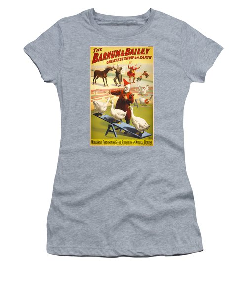 Vintage Barnum And Bailey Poster - 1900 Women's T-Shirt