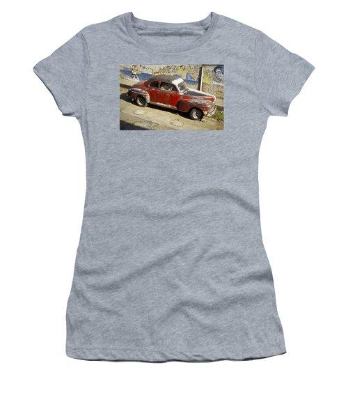 Vintage Car Women's T-Shirt (Athletic Fit)