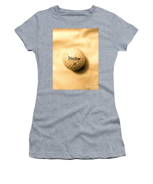 Vintage Golf Ball Women's T-Shirt (Athletic Fit)