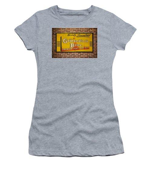 Vintage Griesedieck Bros Beer Dsc07192 Women's T-Shirt (Athletic Fit)