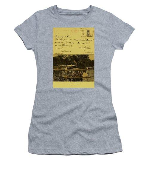 Vintage Postcard  October 10 1910 Women's T-Shirt (Athletic Fit)