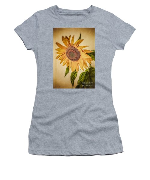 Vintage Sunflower Women's T-Shirt