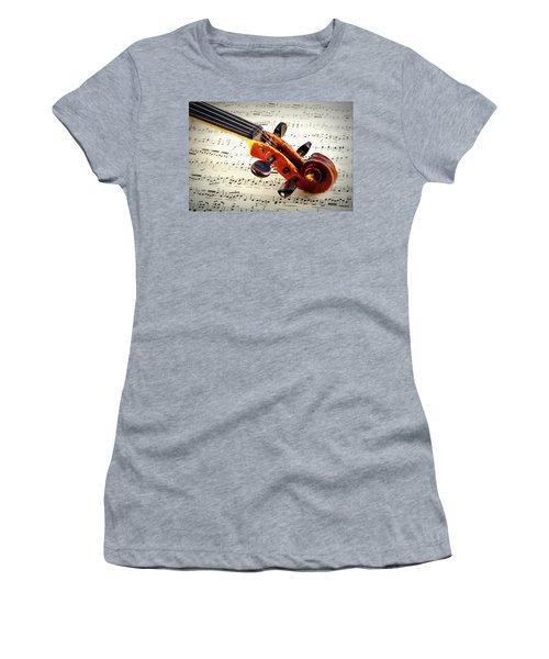 Violine Women's T-Shirt (Athletic Fit)